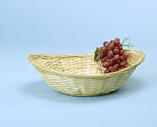 Bamboo Oval Basket