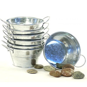 Galvanized Round Tub 6 inch