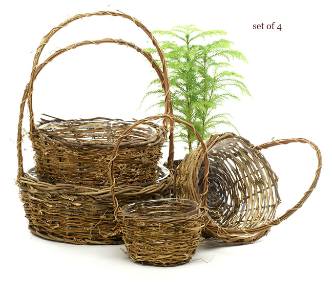 Vine Ship Basket Set of 4