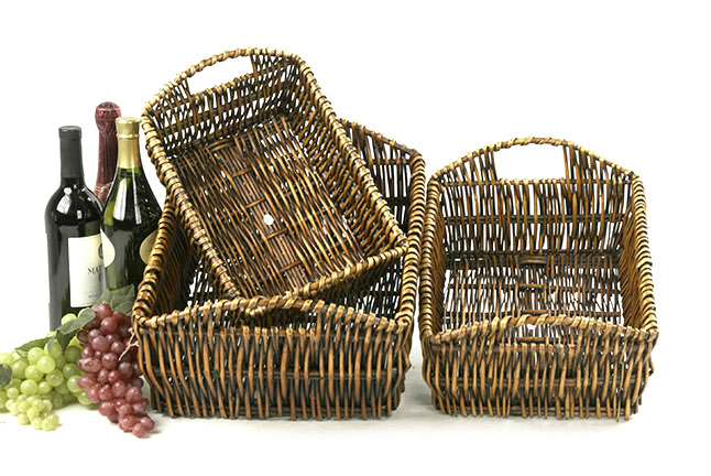 Rectangle Basket Set of 3